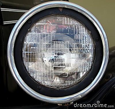 Old Car Front Light