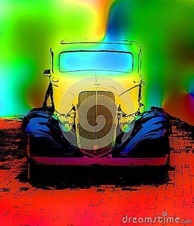 Free Old Car Grunge Stock Photo - 870160