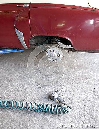 Old car repair