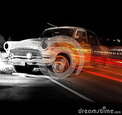 Old car s last dream