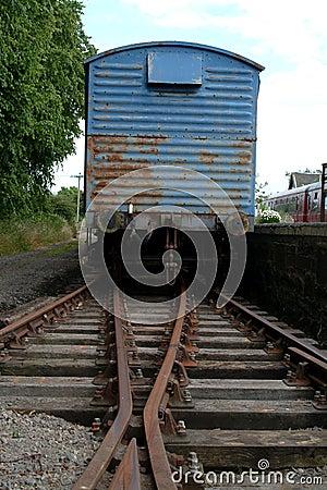 Free Old Cargo Train, Scotland Stock Photos - 173773