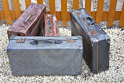 Old cases bags