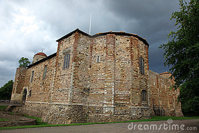Old castle in Colchester