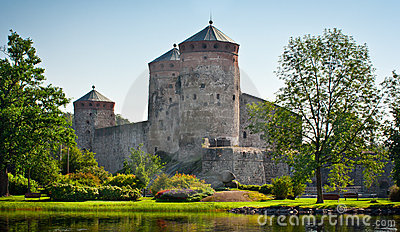 Old castle in Finland