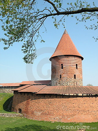 Free Old Castle In Kaunas City Royalty Free Stock Photos - 20689478