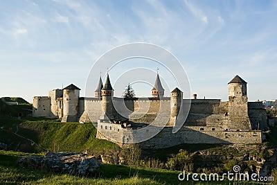 Old castle of Kamenec-Podolskiy