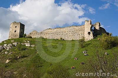 Old castle of Kudrinci village.