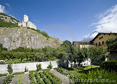 Old castle of Martigny