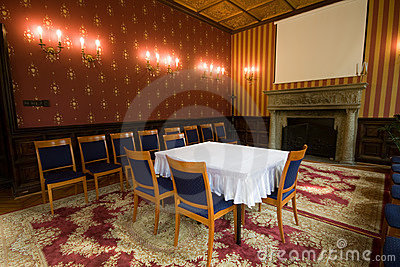 Old castle room