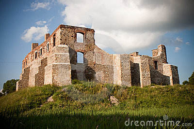 Old castle ruins