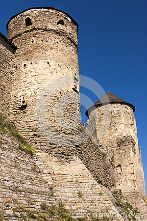 Old castle s watchtowers