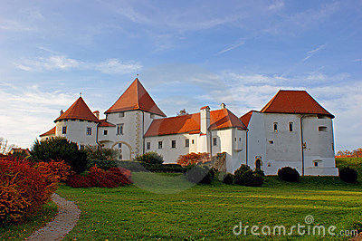 Old castle in Varazdin