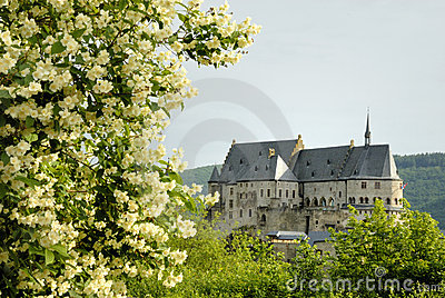 The old castle of Vianden