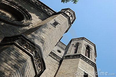 An old cathedral in Tianjin