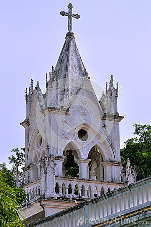 Old Catholic Church in Xiamen, South of China