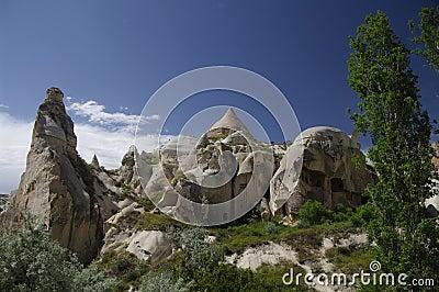 Old caves, Cappadocia, Turkey