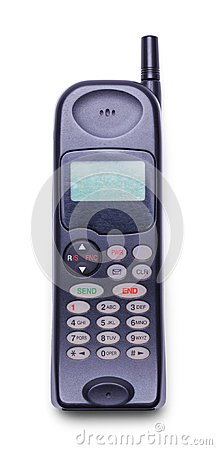 Free Old Cell Phone Front Stock Photography - 108764572