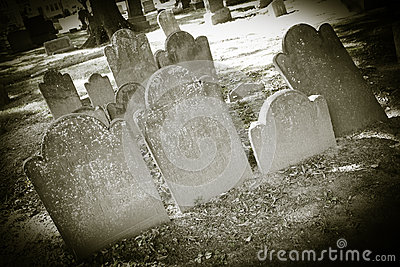 Old Cemeteries - Tombstone Closeups