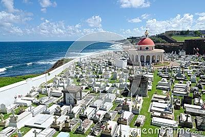 Old cemetery in San Juan, Puerto Rico
