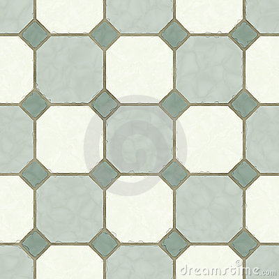 Old ceramic tile