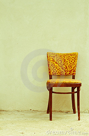 Free Old Chair, Old Photo Royalty Free Stock Photos - 15835158