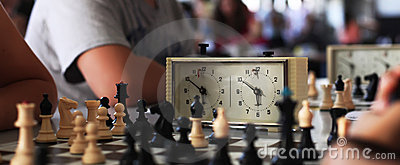 Old chess clock