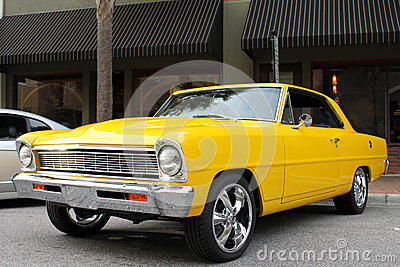 The old Chevy II car