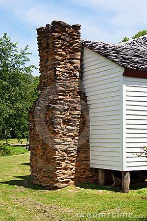 Old Chimney at Smoky Mountains National Park.
