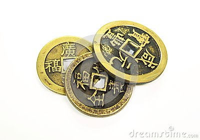 Old China Coins