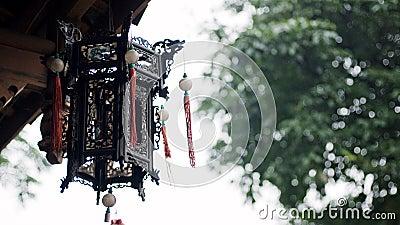 Old China Town palace lantern