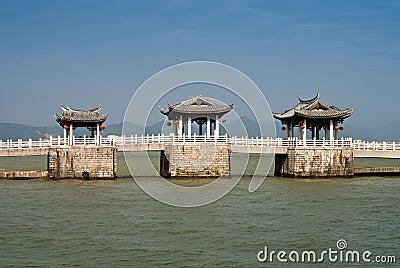 Old chinese bridge