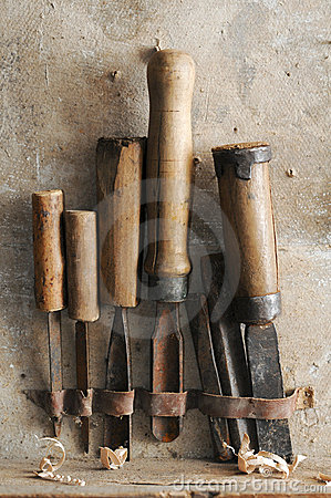 old chisels
