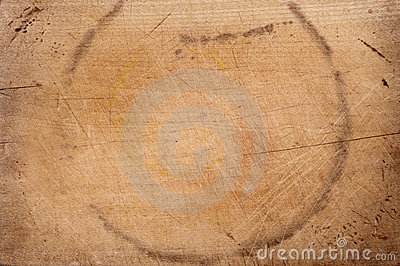 Old chopping board wooden background
