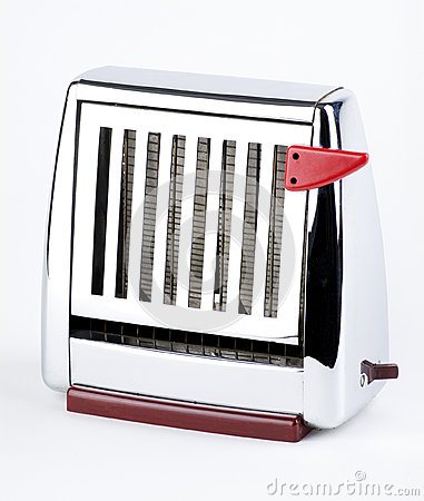 Old Chrome Toaster
