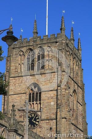 Old church belfry