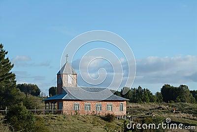 Old church in chiloe