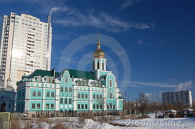 Old church. Kiev,Ukraine