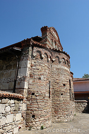 The old church in Nessebar.Bulgaria.