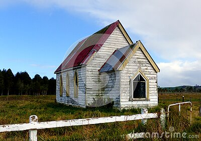 Old Church, Otuhianga Road, Matakohe, Nz Free Public Domain Cc0 Image