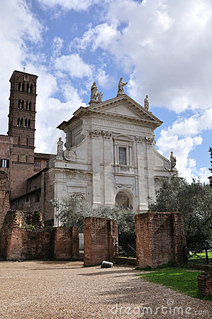 Old Church in Roman Forum