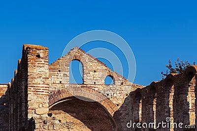 Old church ruin
