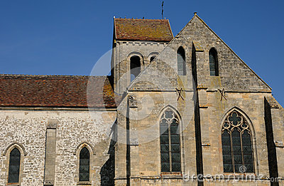 The old church of Seraincourt