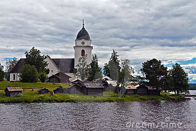 Old church in Sweden
