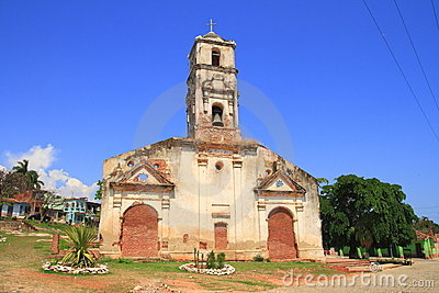 An old church in Trinidad