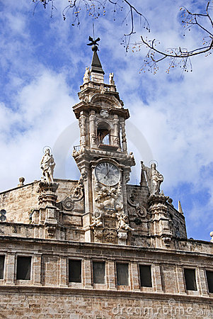 Old church in Valencia Stock Photo