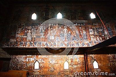 Old church walls Editorial Photo