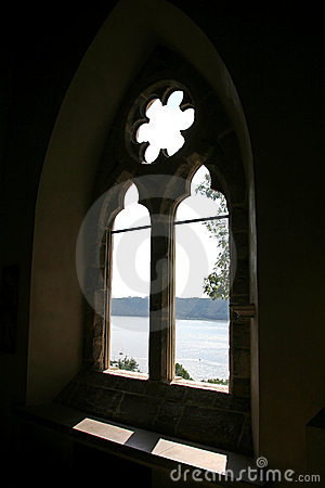 Free Old Church Window Stock Photography - 1393042