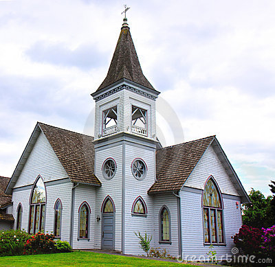 Free Old Church With Steeple Royalty Free Stock Images - 20275359