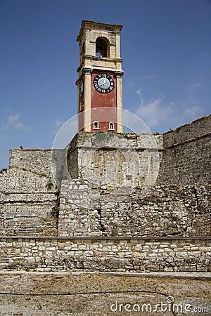 Old citadel in Corfu Town (Greece)