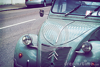 Old Citroen Editorial Stock Image